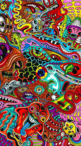 wallpaper android trippy art 2020