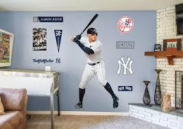 Aaron Judge Fathead Wall Decal Ny Yankees Room Boys Baseball Bedroom Baseball Bedroom