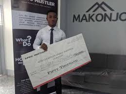 Afro Hustler Crowns Egbe Referandum Winner of the Pitching Contest