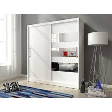 sliding doors horizontal mirror bedroom