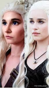 daenerys targaryen makeup test