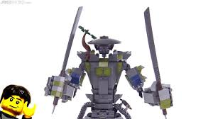 LEGO Ninjago Oni Titan review! 70658 - YouTube