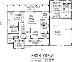 story 4 bedroom house floor plans