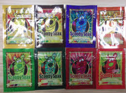 China Scooby Snax Herbal Incense Plastic Pouch Bag - China ...