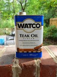 varnish and teak oil