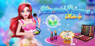 mermaid princess makeup fashion