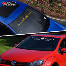 Buy Adams High Sticker Block Reflective Front Windshield Stickers Car Stickers Jp Modified Rear Windshield Stickers Car Stickers Affixed To The Windshield Glass Decorative Stickers In Cheap Price On M Alibaba Com
