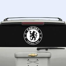 6 Chelsea Fc Car Window Decal Sticker F Buy Online In Guernsey At Desertcart