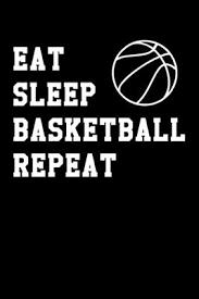 eat sleep basketball repeat minimal