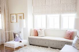 Contemporary Kid Room With Gray Window Seat Hgtv