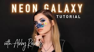 NEON GALAXY Tutorial w/ Abby Roberts - YouTube