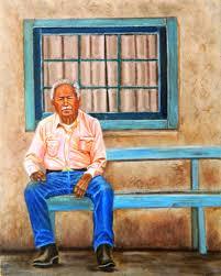Man Waiting, Dora Johnson