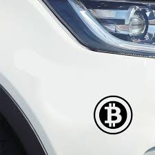 6 Colors 2pcs 15 15cm Bitcoin Cryptocurrency Blockchain Freedom Car Sticker Vinyl Window Decal Styling Wish