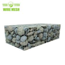 China Welded Gabion Retaining Wall With Fence On Top Welded Gabion Wall China Building Material Galvanized