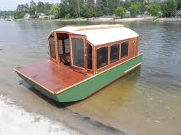 designs micro houseboat you can build