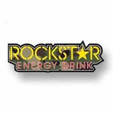 Mega Discount B0ab 13cm X 4 4cm For Rockstar Energy Drink Logo Car Stickers Vinyl Jdm Bumper Trunk Graphics Windshield Bumper Windows Cicig Co