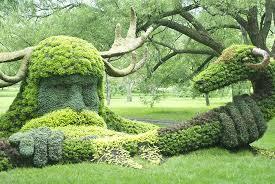 excellent botanical garden but check