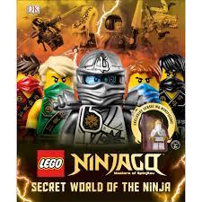 DK Books LEGO Ninjago Secret World of the Ninja Hardback Books ...
