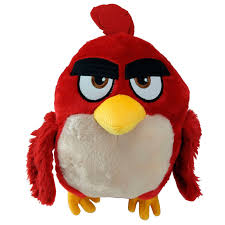 angry birds 2 red plush toy 23cm