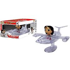 dc comics wonder woman invisible jet