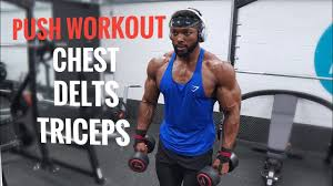 chest shoulders triceps