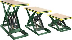 lift tables hydraulic lift tables