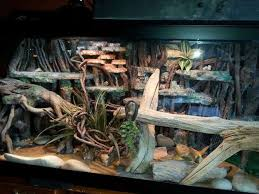 background fake rock walls for reptiles