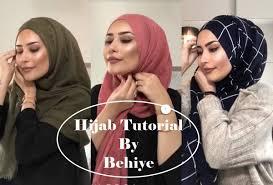 3 beautiful hijab tutorials by behiye