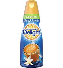 sugar free french vanilla coffee creamer