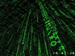 the matrix wallpaper and screensaver on