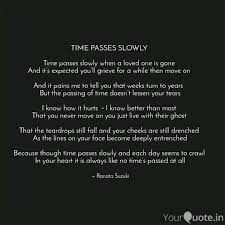 time passes slowly tim quotes writings by ranata suzuki