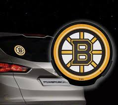 New Nhl Boston Bruins Light Up Powerdecal Car Led Motion Light Up Decal 456577348