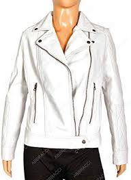 abbracci women motorcycle white faux