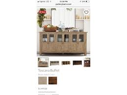 toscana pottery barn dining set in
