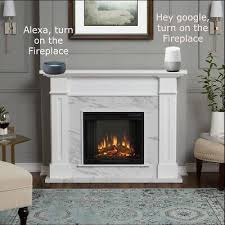 smart plug for fireplace control with