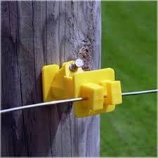 Zareba Fi Shock Iwny Fs Slant Nail Wood Post Insulator Yellow Vorg8352213 Iwny Fs
