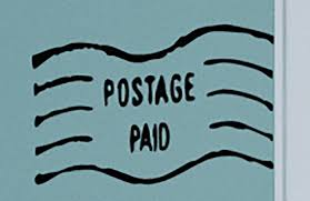 Postage Paid Travel Postmark Photo Wall Decal