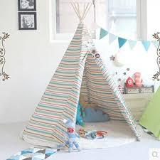 Dream House Indian Teepee Tripod Play Tent Kids Hut Children House Game House Game House Children Houseindian Teepee Aliexpress
