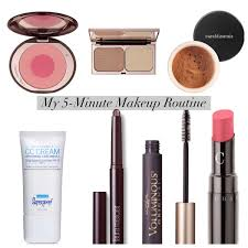 my 5 minute makeup routine working mom