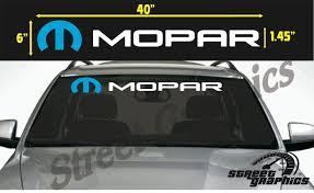 For Mopar Windshield Vinyl Decal Sticker Car Stickers Aliexpress