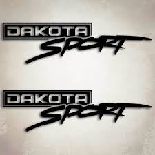 4x4 Dodge Dakota Sport Truck Decals Mopar Sticker Set