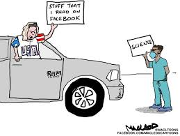 Evansville's James MacLeod's cartoon on COVID-19 protesters