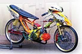 modifikasi sepeda motor honda supra x
