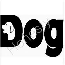 Big Giant Dog Sign Car Window Sticker Reflective Waterproof Vinyl Decal For Car Decals For Cars Vinyl Decalcar Window Sticker Aliexpress