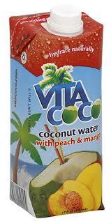 vita coco coconut water peach and mango