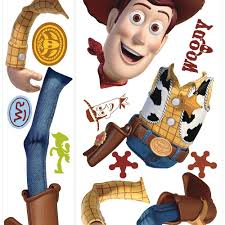 Disney And Pixar Toy Story 4 Woody Giant Wall Decal Wallpaper And Borders The Mural Store