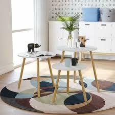 vidaxl solid mango wood coffee table