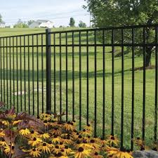 New Haven Aluminum Fence Panel Aluminum Fence Freedom Outdoor Living For Lowes