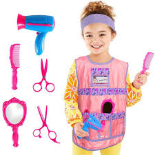 Hairdresser Costume Kids Role Play Costume Hair Stylist Fancy ...