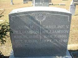 Caroline Virginia Perry Williamson (1860-1940) - Find A Grave Memorial